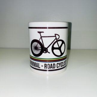 Taza ciclista de desayuno