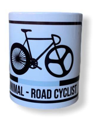 taza ciclista de carretera