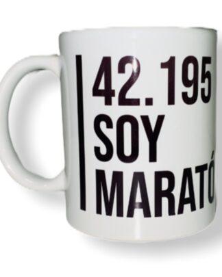 taza maratón