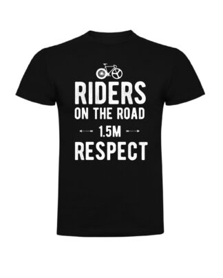 Camiseta respeto al ciclista