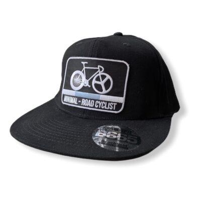 gorra ciclista negra